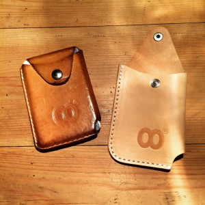 This is how the Virgin Leather will age over time...