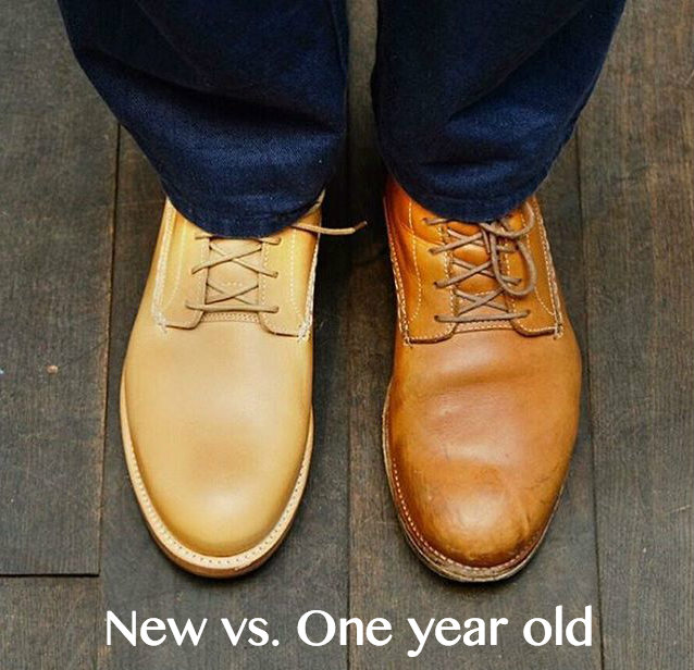 Vegetable Tanned Leather Boots