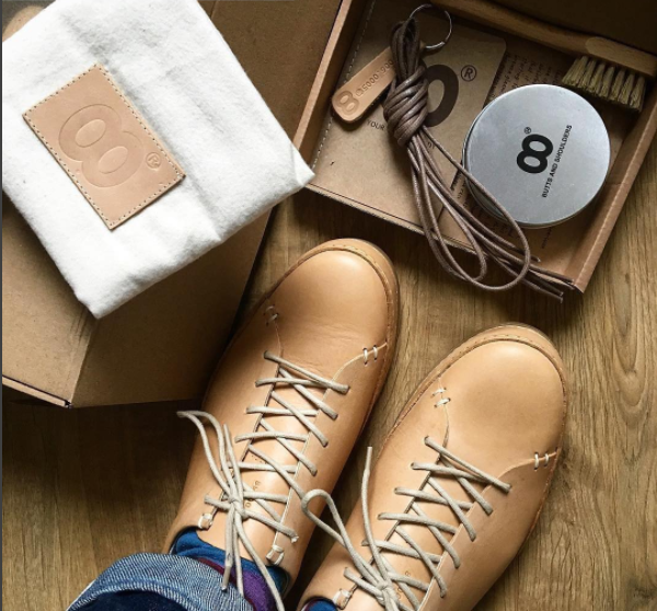 Natural Leather Sneakers Care Kit
