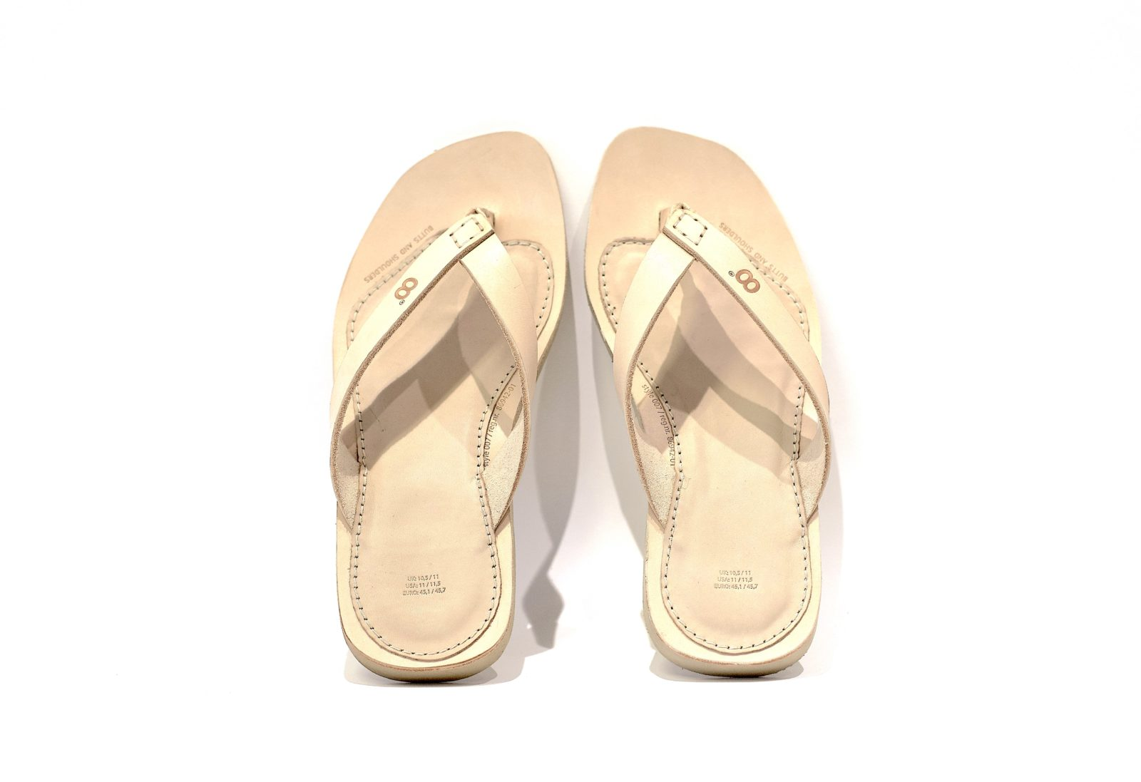 Vegetable Tanned Leather Slippers