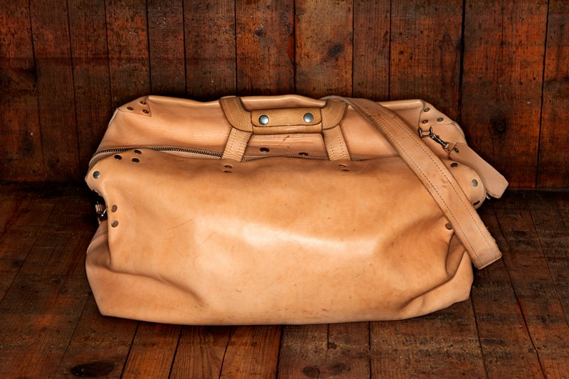 The beauty of our natural vegetable tanned leather