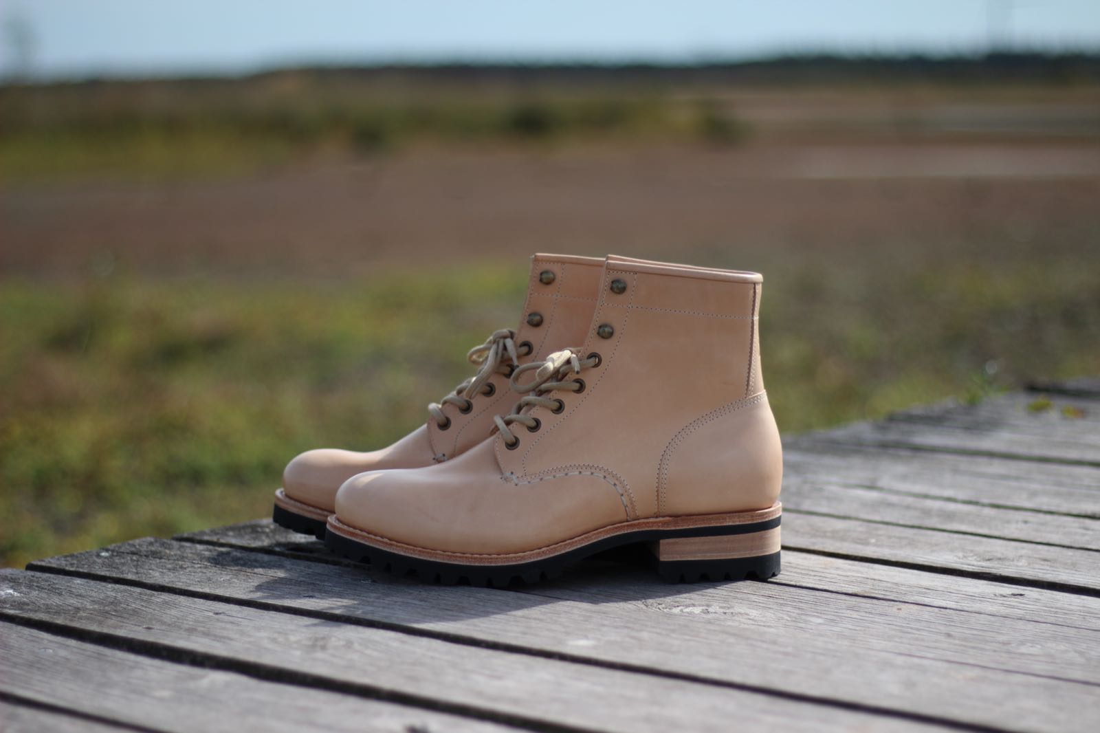 We Proudly Present Our New Heritage Boots