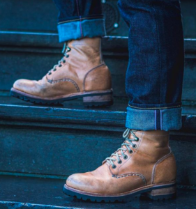 Heritage Boots patina